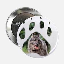 "Wolfiepaw large 2.25"" Button"