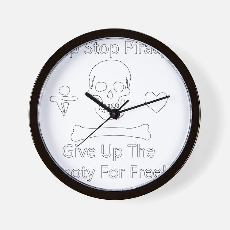 HSP-Stede_Bonnet-W Wall Clock