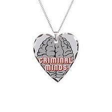 Criminal Minds Brain Grey Necklace