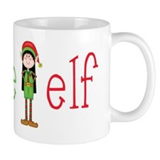 Auntie Christmas Elf Mug