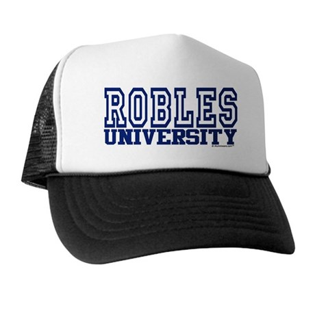 ROBLES University Trucker Hat