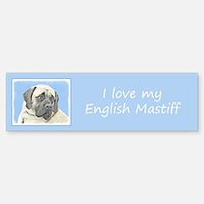 English Mastiff (Fawn) Sticker (Bumper)