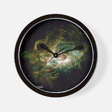 NGC 604 Giant Stellar Nursery small pos Wall Clock