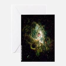 NGC 604 Giant Stellar Nursery ipad Greeting Card