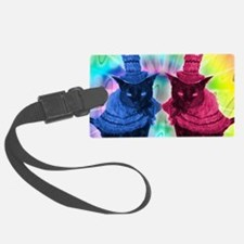 April2/lickycat2/Mad Hatter Luggage Tag
