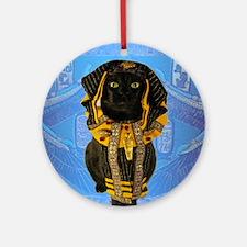 Feb/lickycat2/Pharoh Round Ornament
