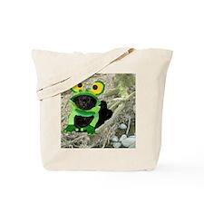 Mar/lickycat2/Sleepy Frog Tote Bag
