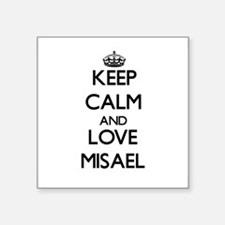 Keep Calm and Love Misael Sticker