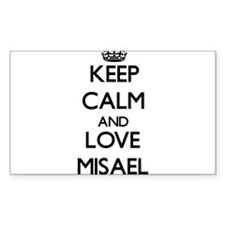 Keep Calm and Love Misael Decal