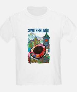 Vintage Switzerland Travel T-Shirt