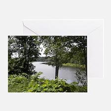 tahquamenon river Greeting Card