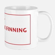 finning-shirt Mug