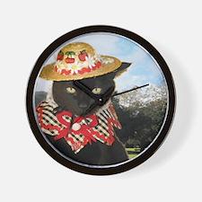 June/lickycat2/Country Licky Wall Clock