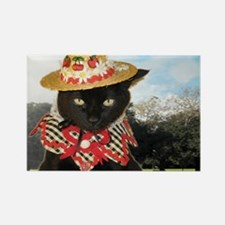 June/lickycat2/Country Licky Rectangle Magnet
