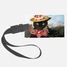 June/lickycat2/Country Licky Luggage Tag