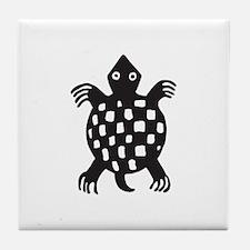 Aztec Turtle Tile Coaster