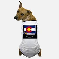 COstateFlagILYbbt Dog T-Shirt