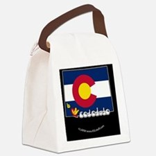 COstateFlagILYbbt Canvas Lunch Bag