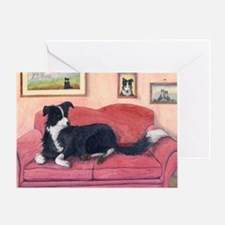 Where are my cushions? Greeting Card