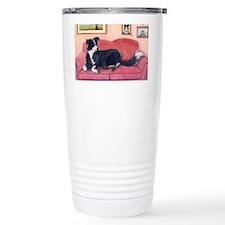 Where are my cushions? Travel Coffee Mug