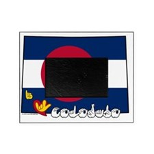 COstateFlagILY Picture Frame