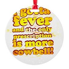 cowbell2 Ornament