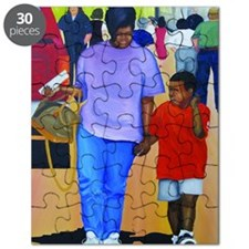 Mom and son Puzzle