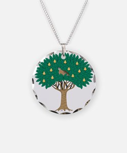 Partridge in Pear Tree Necklace