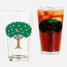 Partridge in Pear Tree Drinking Glass