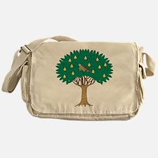Partridge in Pear Tree Messenger Bag