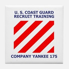 USCG Recruit Company Y175<BR> Tile Coaster