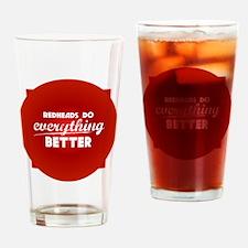 redheads_everything_rev Drinking Glass