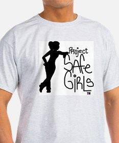 PROJECT SAFE GIRLS LOGO LG WITH TM90 T-Shirt