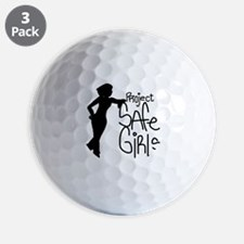 PROJECT SAFE GIRLS LOGO LG WITH TM900 Golf Ball