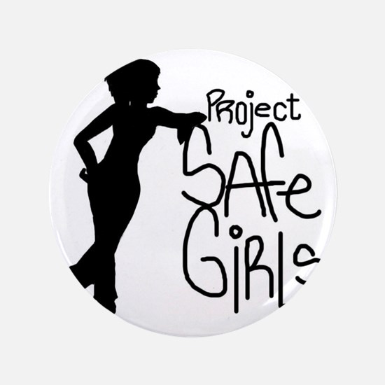 "PROJECT SAFE GIRLS LOGO LG WITH TM900 3.5"" Button"