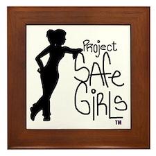PROJECT SAFE GIRLS LOGO LG WITH TM900 Framed Tile