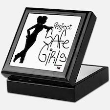 PROJECT SAFE GIRLS LOGO LG WITH TM900 Keepsake Box