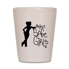 PROJECT SAFE GIRLS LOGO LG WITH TM900 Shot Glass