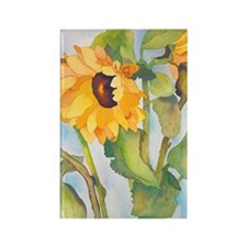 sunflowers ipad Rectangle Magnet