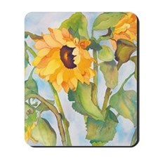 sunflowers ipad Mousepad