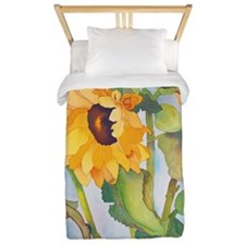 sunflowers ipad Twin Duvet
