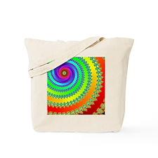 Ribbon Spiral Tote Bag
