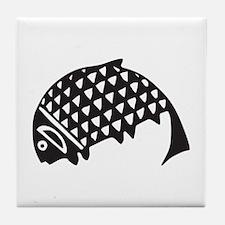 Aztec Fish Tile Coaster