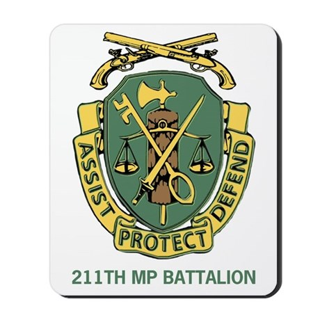 211th Military Police Bn Mousepad