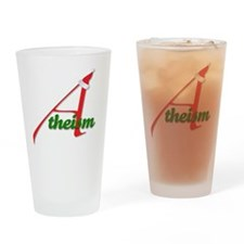 Atheism4 Drinking Glass