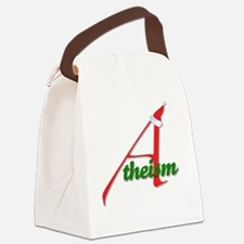 Atheism4 Canvas Lunch Bag