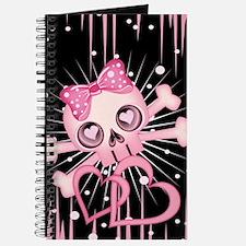 Pink Neon Skull IPAD Journal