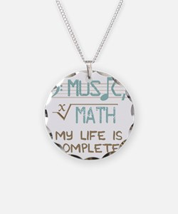 Math and Music Necklace