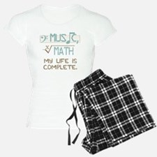 Math and Music pajamas