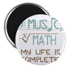 Math and Music Magnet